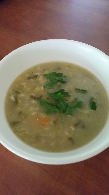 Netties wholesome soup by Regenerate Your Life