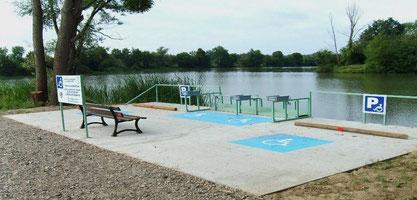 tourisme handicap fédération de pêche de l'Oise Picardie nature Verberie