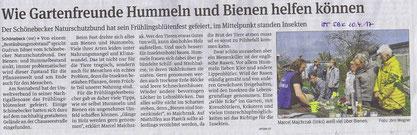 Volksstimme Schönebeck vom 10. April 2017 (Jörn Wegner)