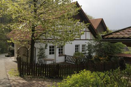 Das Haus mit Terasse