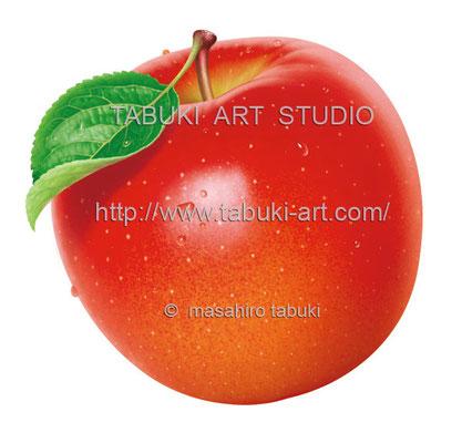 リンゴ丸水滴 RD10634