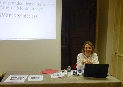 Cécile Lestienne, Responsable de l'Inventaire du patrimoine aux Archives départementales du Val-d'Oise