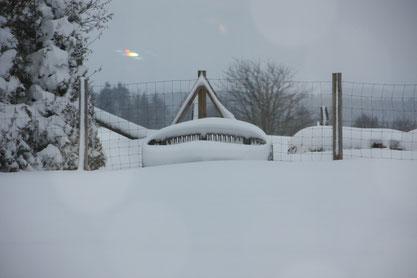 mit so richtig Winter