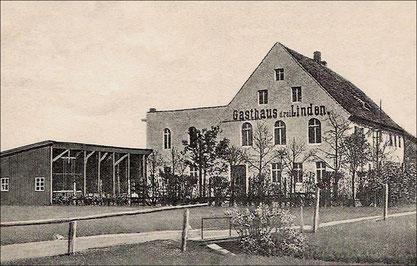Bild: Wünschendorf Lauban Gasthaus drei Linden