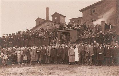 Bild: Wünschendorf Chamottefabrik