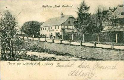 Bild: Wünschendorf Böhmen 1925 Srbská