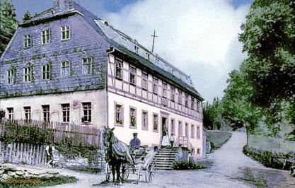 Bild: Wünschendorf Erzgebirge Bornwald