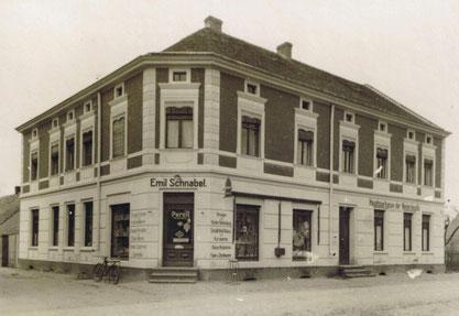 Handelshaus Emil Schnabel, 1932.