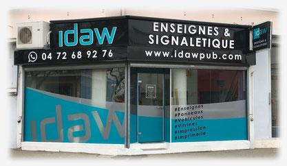 Locaux Idaw Publicité de 2010 à 2017