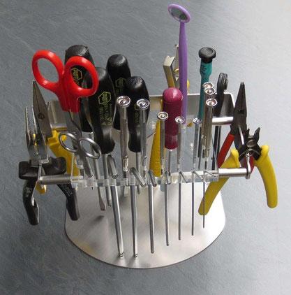 Werkzeughalter- beispielhafte Bestückung