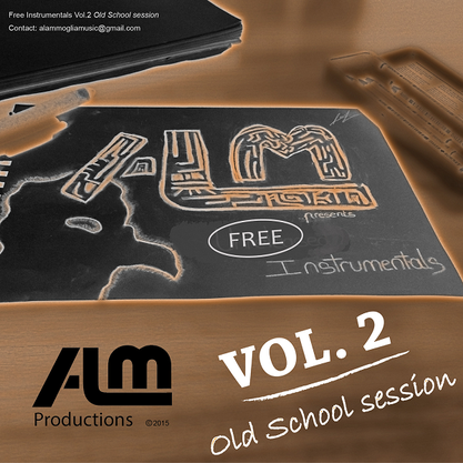 ALM - Free Instrumentals Vol.2 (Beat tape) 2015 [Producing; recording; mixing; mastering]