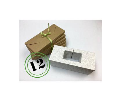 Ensemble de 12 enveloppes PlumePak