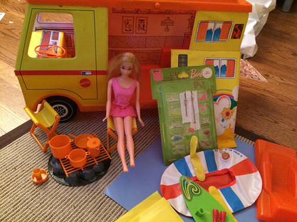 "Le ""camper"" de Barbie"