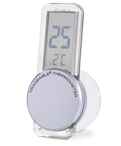 Termómetro digital para refrigerador o congelador con certificado trazable a NIST 4157