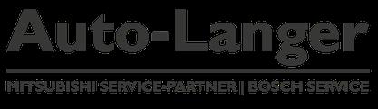 Auto Langer Logo - Mitsubishi Service-Partner und Bosch Service