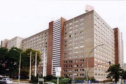 STASI centralen i 'Ministerium für Staatssicherheit', Berlin-Lichtenberg