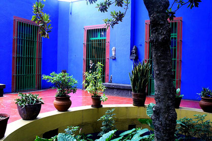 """Casa Azul"" (Det blå hus) er genåbnet som museum"