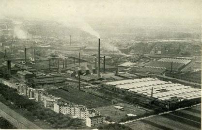 Krupp-Gruson Werke in Magdeburg (Fotograf: Unbekannt)