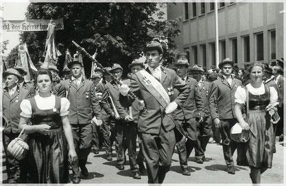 Marschmusik mit Kapellmeister Franz Felber
