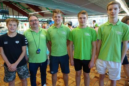 Erfolg für TSV-Quartett bei der deutschen Mannschaftsmeisterschaft.