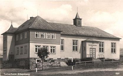 Das Turnerheim auf einer Ansichtskarte