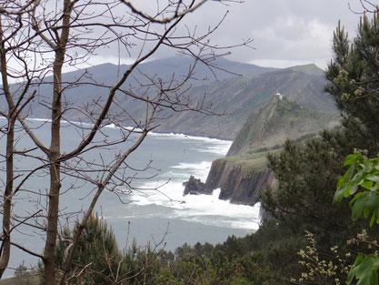 Sentier du littoral entre Pasai et Donostia