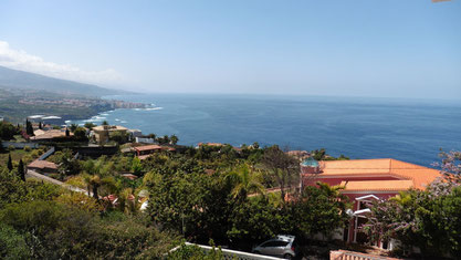 Gigantische Meerblick aus Santa Ursula