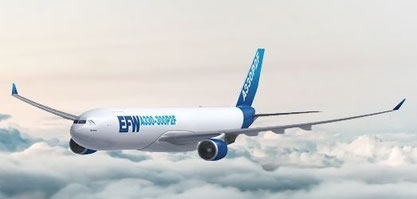 Dresden, Germany-based EFW converts A321 passenger aircraft to freighters (P2F)  -  courtesy EFW
