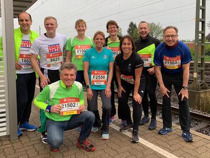 Von Links: Stefan Lüders, Jan Lüdtke, Erhard Leppin, Antje Sauer, Stefanie Stindt, Verena Rullmann, Nicole Bethien, Dirk Habenicht, Thomas Kratz