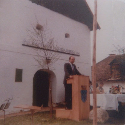 Museumseröffnung am 03.05.1987