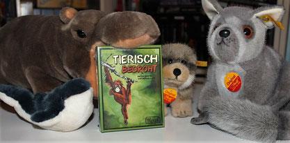 Rezension zum Kartenspiel Tierisch bedroht vom Mogel Verlag