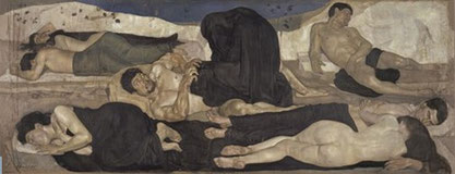 Ferdinand Hodler, La noche (1889-1890)