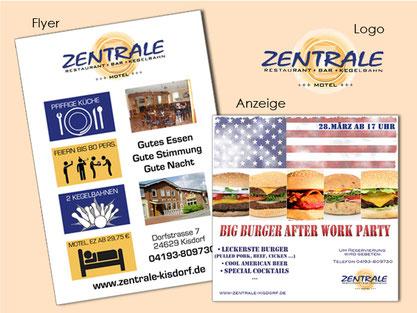Werbung Grafikdesign Design Flyer Mailings Plakat Printwerbung