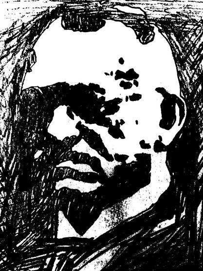 Bild: Bleistift-Karikatur Haber, Timo Mäule.*