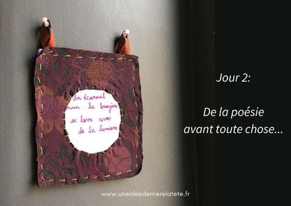 Anne-Claire Perruchon - Une idée derrière la tête - Cours/Ateliers couture et arts du fil à domicile et 100% personnalisés.