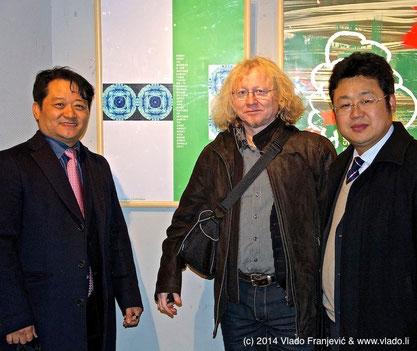 Dr. Albert Inyoung Choi, Vlado Franjević and Liu Xuguang