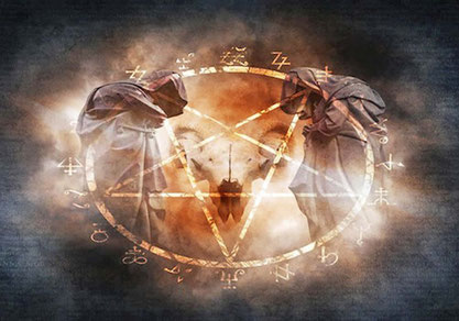 rompe magia negra, elimina brujería negra, hechicería negra y santería negra, rompe pacto con el diablo.