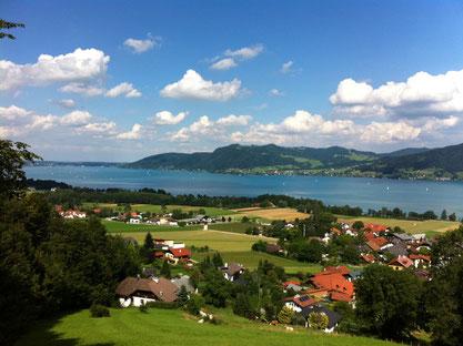 Sport und Freizeitaktivitäten inmitten einer Traumlandschaft am Attersee - Attergau - Salzkammergut
