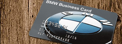 BMW Business Card