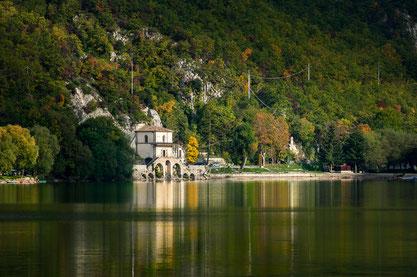 Lago di Scanno, chiesa dell'Annunziata