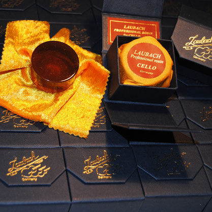 It is important to be very careful not to use to much cello best gold rosin.