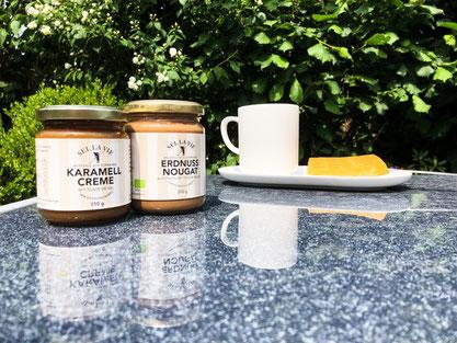 Sel la vie - Karamellcreme & Erdnuss Nougat Creme