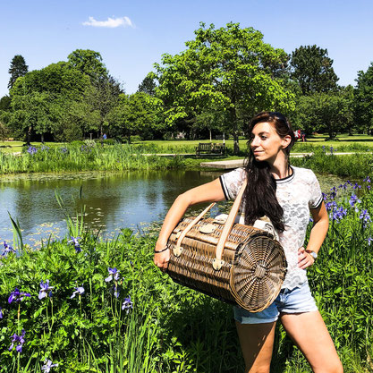 Picknick in der Natur. Les Jardins de la Comtesse Picknick-Korb