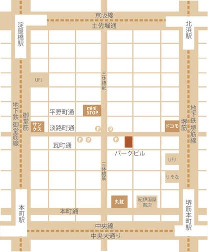 大阪市中央区淡路町2-6-11 淡路町パークビル6F