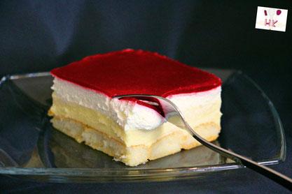 Kuchen Ohne Backen Himbeer Puddingcreme Schnitten Kolac Bez