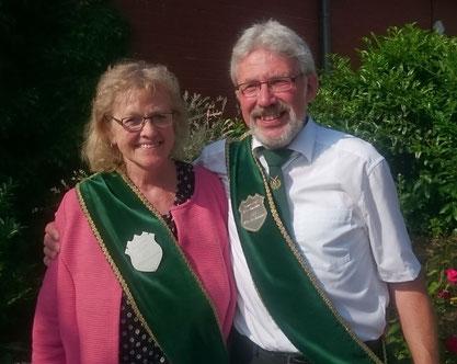 Hildegard Ahrens und Claus Reyelts (Foto Glyschewski)