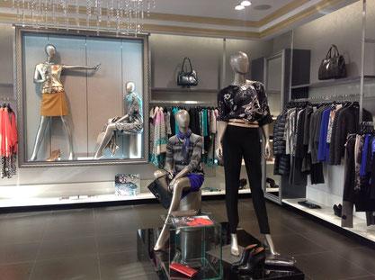 5ad3d7636a1 Магазин женской одежды ведущих европейских брендов. Интерьер создавался для  таких марок