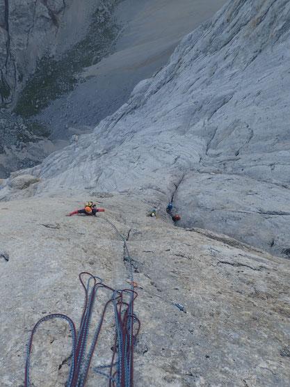 ganz schön zach; das Finale der Messner; UIAA 7 oblg.!