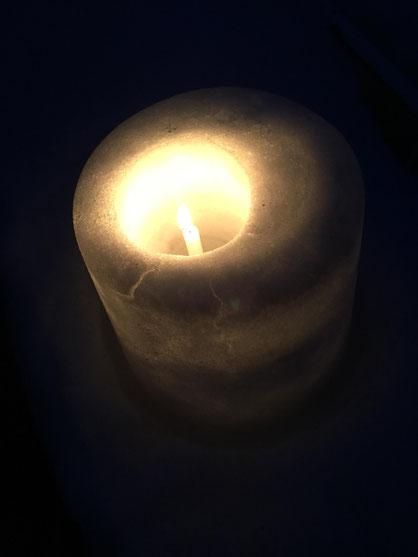 title「この灯がいつまでも消えないように」 name ゆきりん