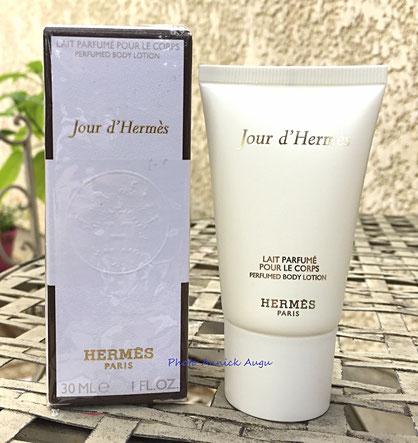 HERMES - JOUR D'HERMES : LAIT PARFUME POUR LE CORPS 30 ML, OFFERT EN PARFUMERIE
